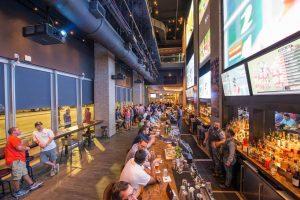 Jenis Bir Dalam Sport Beer Bar Di Charlotte